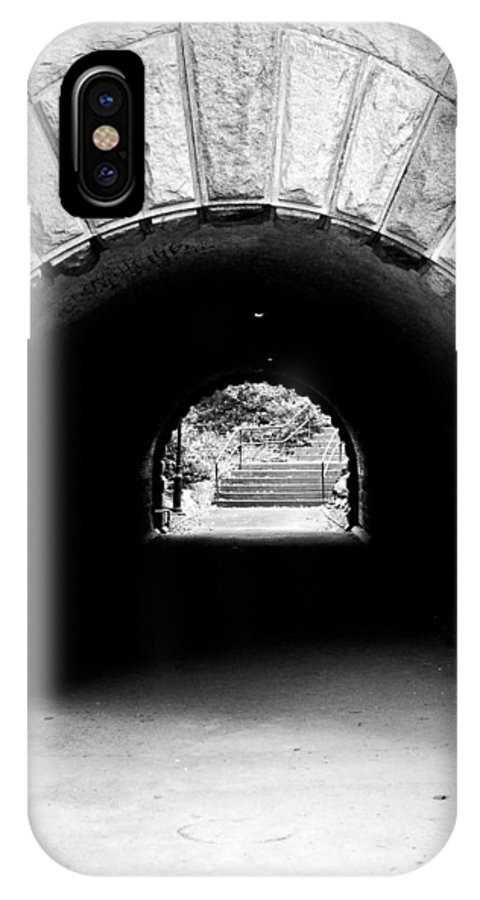 Inscope Arch IPhone X Case featuring the photograph Inscope Arch by Michael Dorn