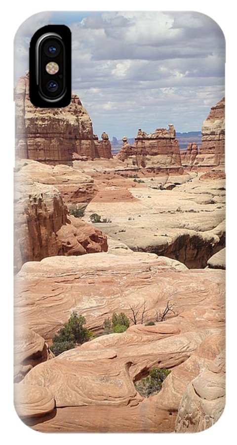 Nature IPhone X Case featuring the photograph Inside The Needles by Maili Page