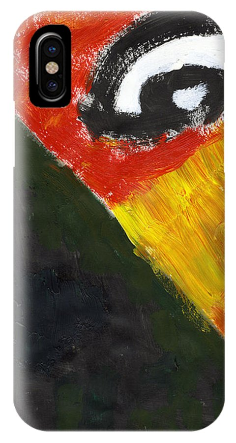 Intellectual Isolation IPhone X Case featuring the painting Intellectual Isolation by Taylor Webb