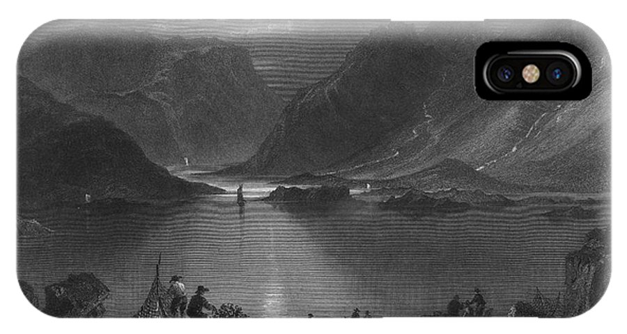 1840 IPhone X Case featuring the photograph Ireland: Killary Harbor by Granger