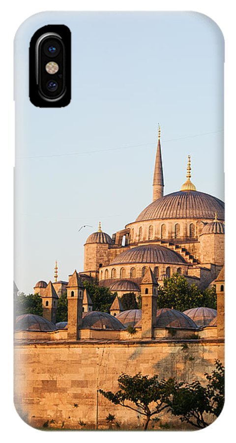 Blue IPhone X Case featuring the photograph Istanbul by Artur Bogacki