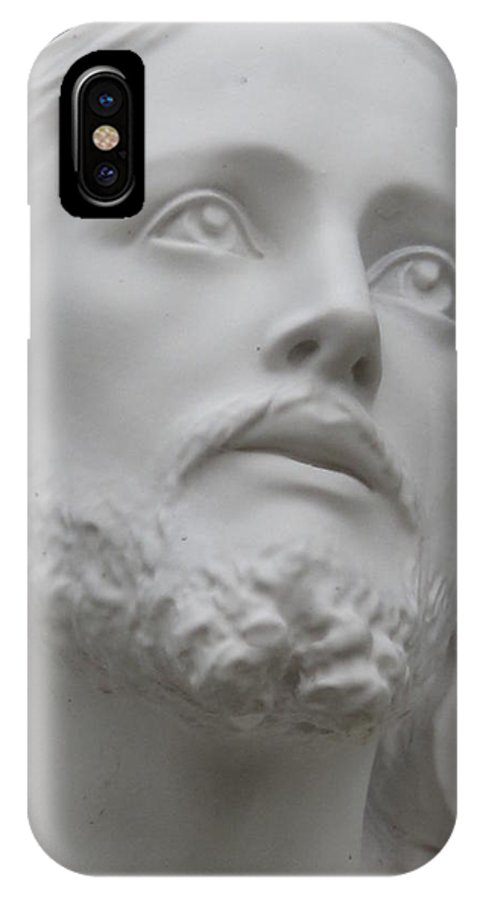 Jesus Statue IPhone X Case featuring the photograph Jesus by Michele Nelson