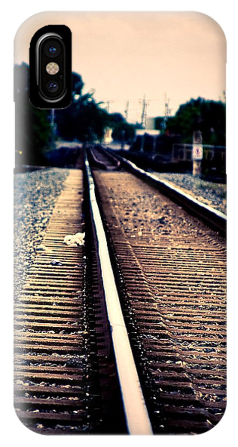 Rail IPhone X Case featuring the photograph Journey by Guy Hoffman