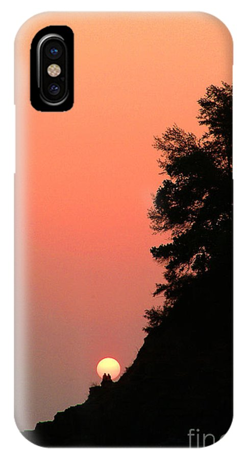 Sunset IPhone X Case featuring the photograph Journey Of Life by Dattaram Gawade