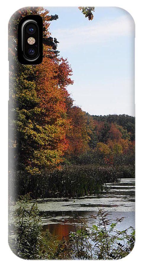 Autumn IPhone X / XS Case featuring the photograph Just Simple Beauty by Kim Galluzzo Wozniak
