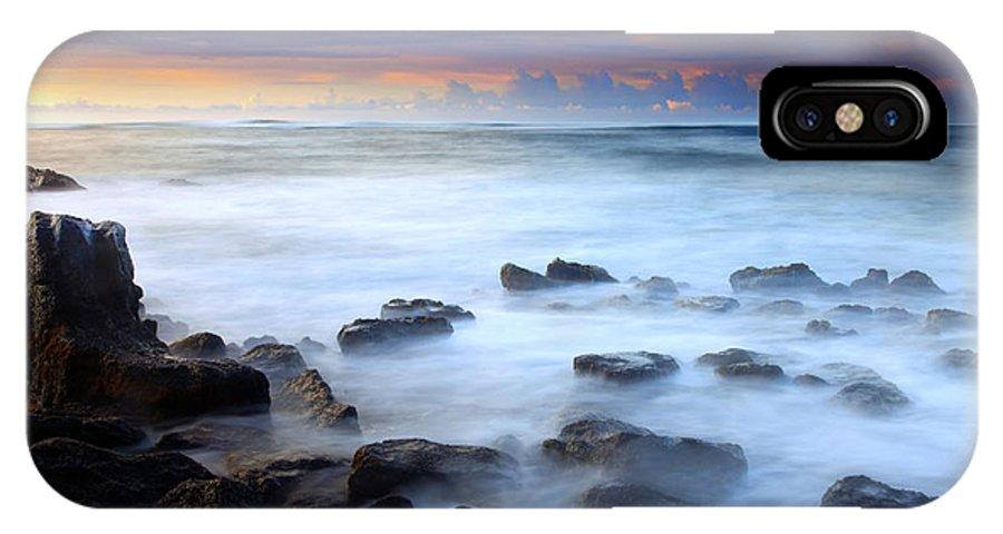 Kauai IPhone X Case featuring the photograph Koloa Dawning by Mike Dawson