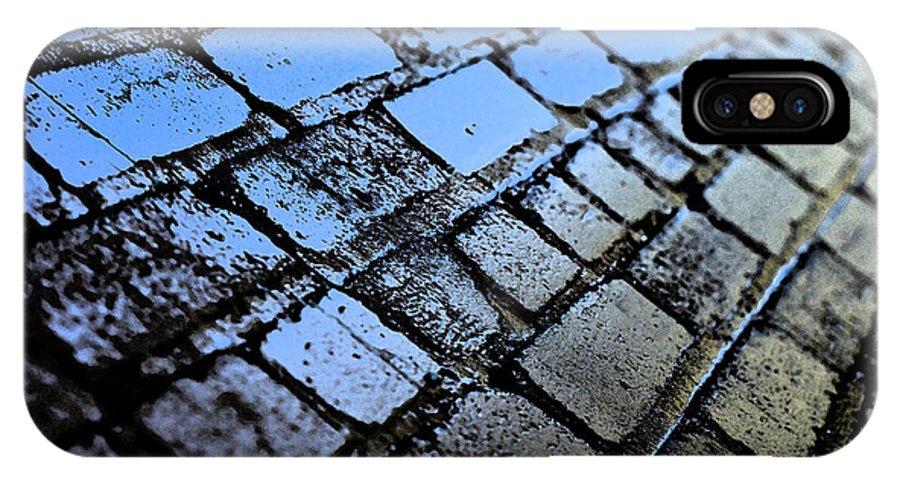 Fresco IPhone X Case featuring the photograph La Fresco Masonry by Travis Crockart