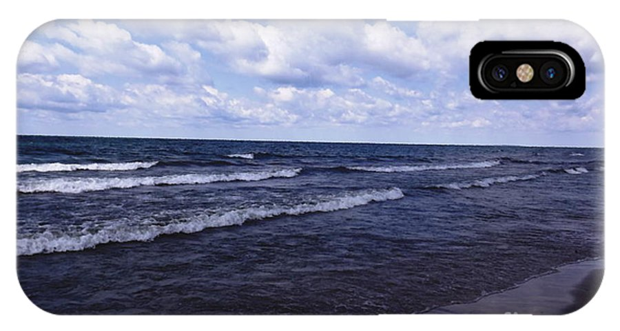 Evangola State Park IPhone X Case featuring the photograph Lake Erie At Evangola State Park 2 by Rose Santuci-Sofranko