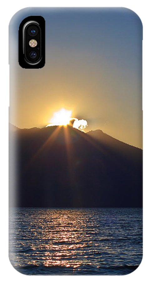 Last Licks IPhone X / XS Case featuring the photograph Last Licks by Mitch Shindelbower