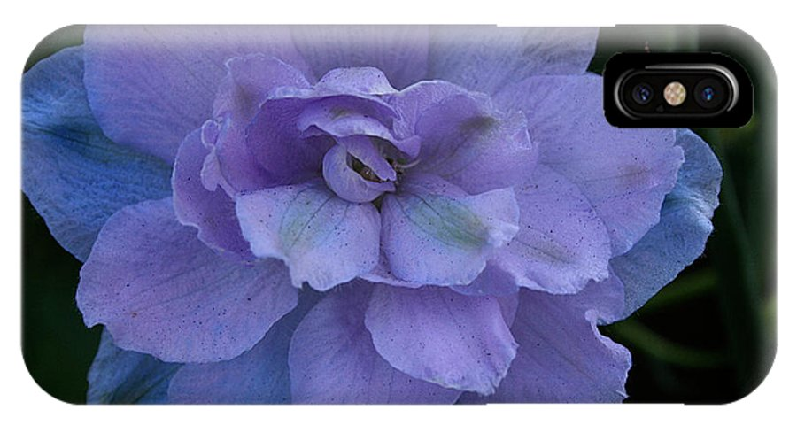 Outdoors IPhone X Case featuring the photograph Lavender Blue by Susan Herber