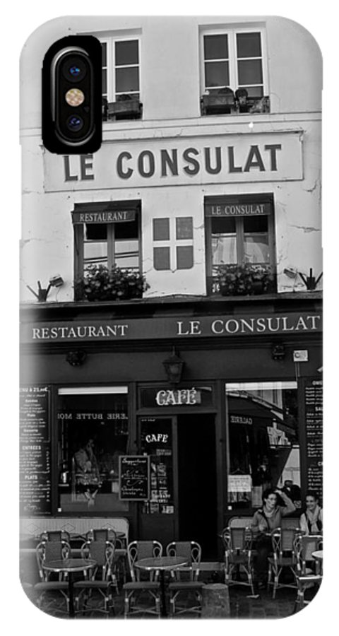 Le Consulat IPhone X Case featuring the photograph Le Consulat by Eric Tressler