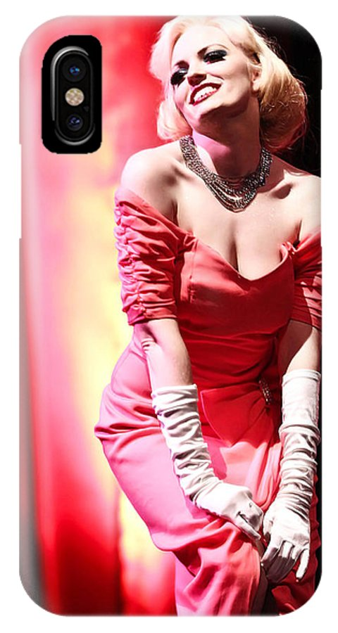 Woman IPhone X Case featuring the photograph Legendary Icon by Elizabeth Hart