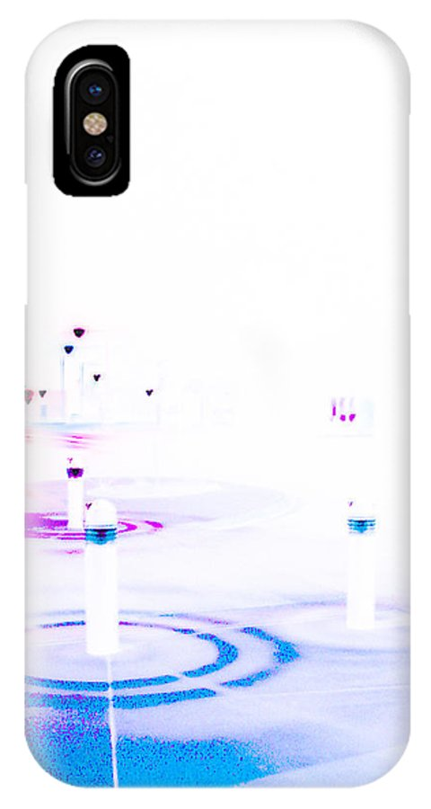 Landscape IPhone X Case featuring the photograph Library On Sunday Morning by Louis Nugent