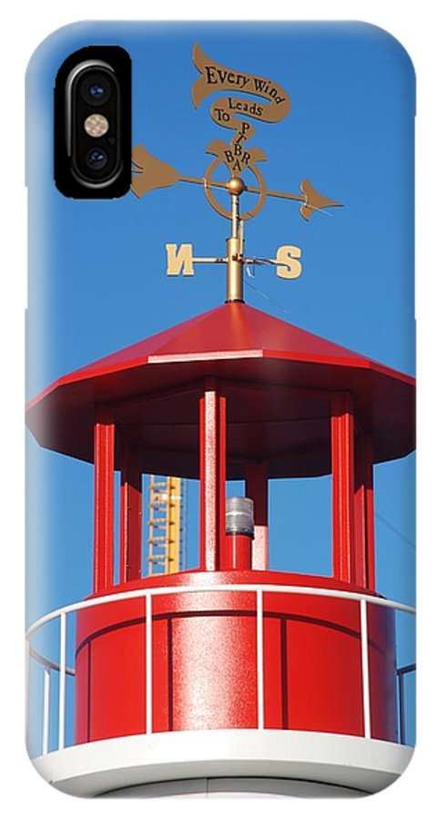 Brooklyn IPhone X Case featuring the photograph Light House On Coney Island by Rob Hans
