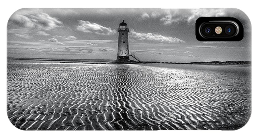Lighthouse IPhone X Case featuring the photograph Lighthouse by Mal Bray
