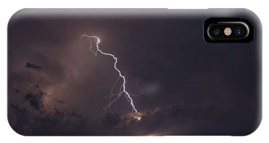 Lighting IPhone X Case featuring the photograph Lighting by Alana Ranney