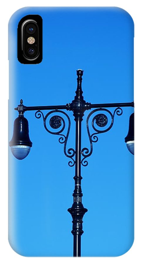 Brooklyn IPhone X Case featuring the photograph Lights Of Coney Island by Rob Hans