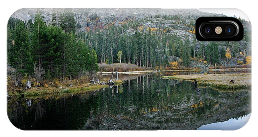 Lily Lake IPhone X Case featuring the photograph Lily Lake by Mitch Shindelbower