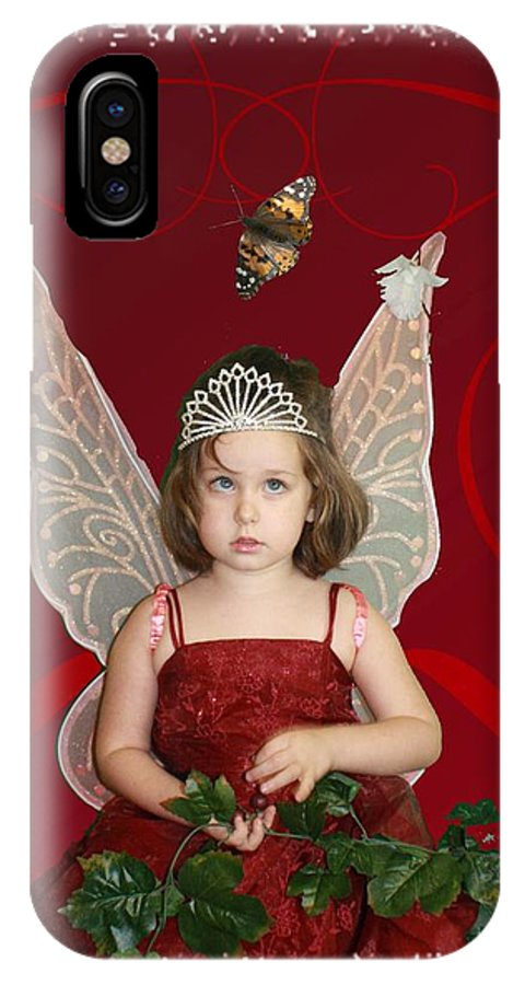 Chelsylotze IPhone X Case featuring the photograph Little Fairy by ChelsyLotze International Studio