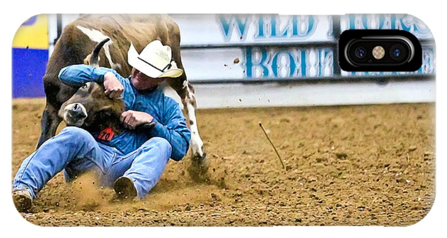 Rodeo IPhone X Case featuring the photograph Lock by Elizabeth Hart