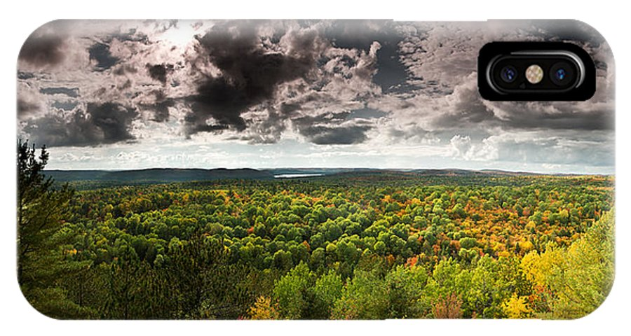 Algonquin IPhone X Case featuring the photograph Lookout Trail by Cale Best