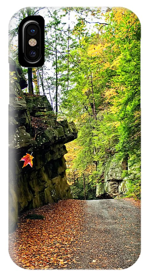 Landscape IPhone X Case featuring the photograph Lost In Pennsylvania 2 by Steve Harrington
