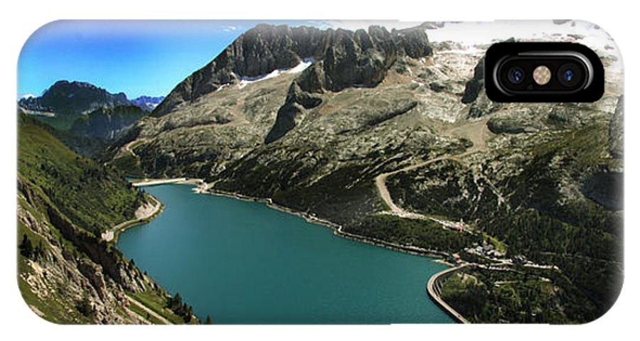 Landscape IPhone X / XS Case featuring the photograph Magic Lake by Celiane Osimo