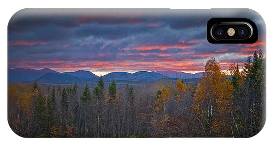 Maine IPhone X Case featuring the photograph Moosehead Sunset by Alana Ranney