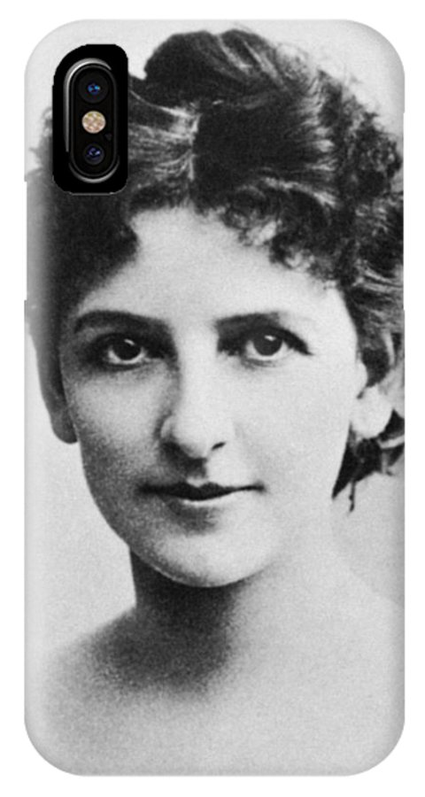 19th Century IPhone X Case featuring the photograph May Robson (1858-1942) by Granger