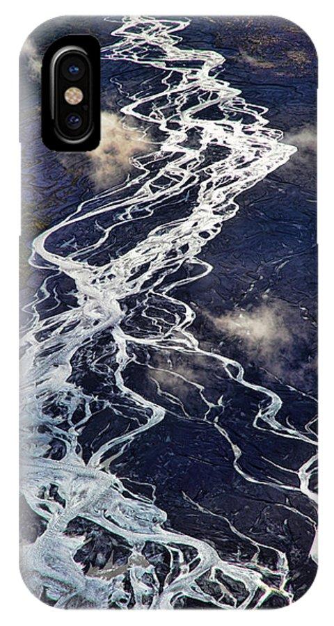 Denali National Park IPhone X Case featuring the photograph Mckinley Quicksilver by Rick Berk
