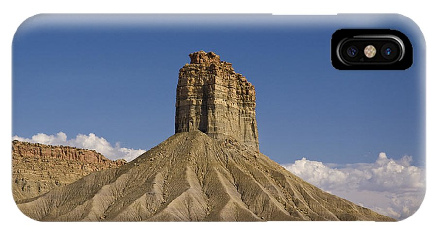 Mesa IPhone X Case featuring the photograph Mesa Spire by Tim Mulina