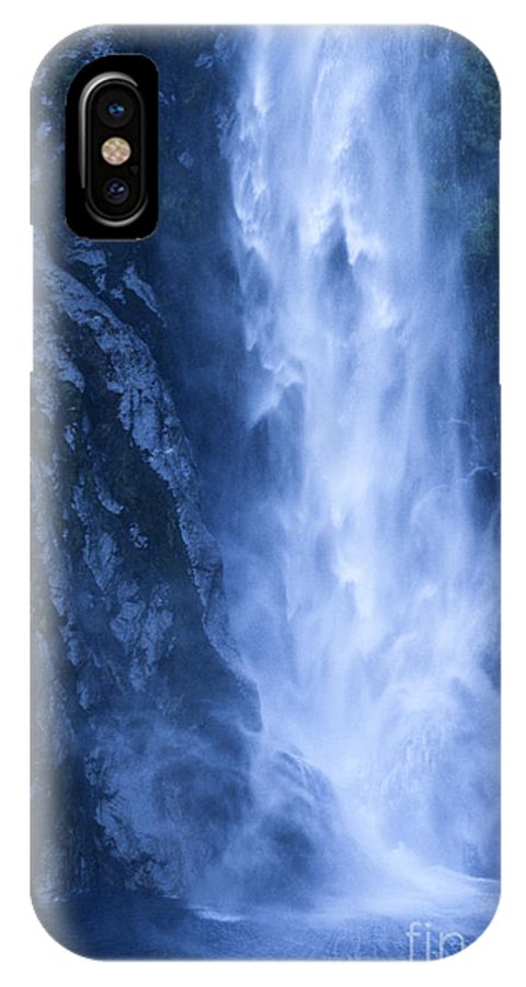 Bronstein IPhone X Case featuring the photograph Milford Sound New Zealand by Sandra Bronstein
