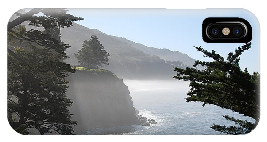online store e22c4 b0ac0 Misty Morning On The Big Sur Coastline IPhone X Case
