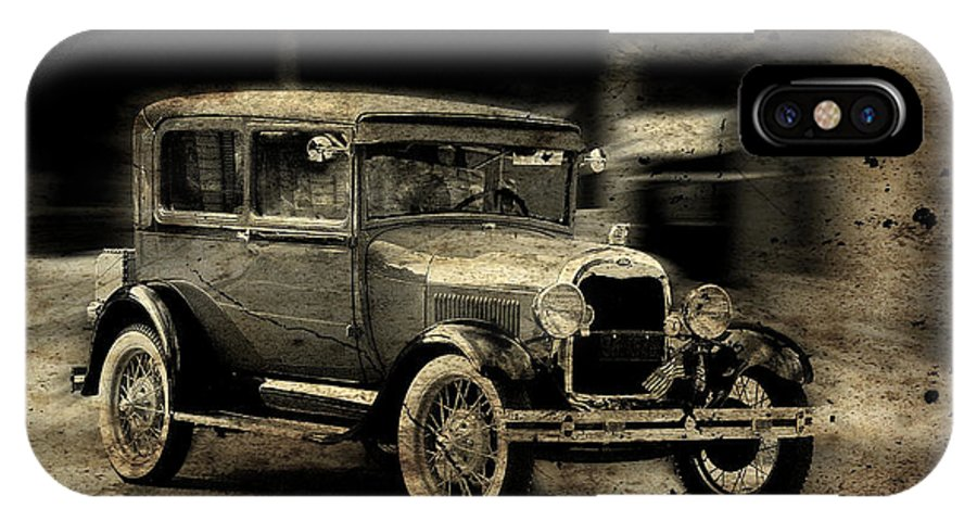 Jma IPhone X Case featuring the photograph Model T No. 2 by Janice Adomeit