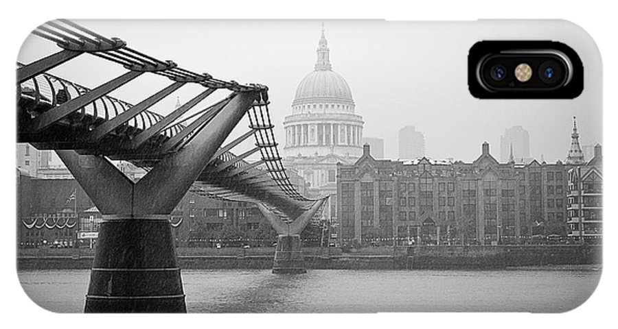 Lenny Carter IPhone X Case featuring the photograph Modern And Traditional London by Lenny Carter