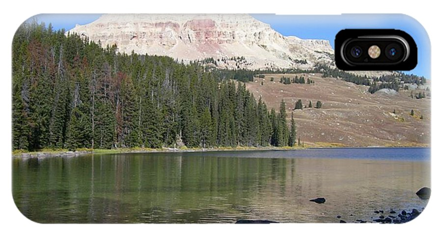 Montana IPhone X Case featuring the photograph Montana100 0883 by Michael Peychich