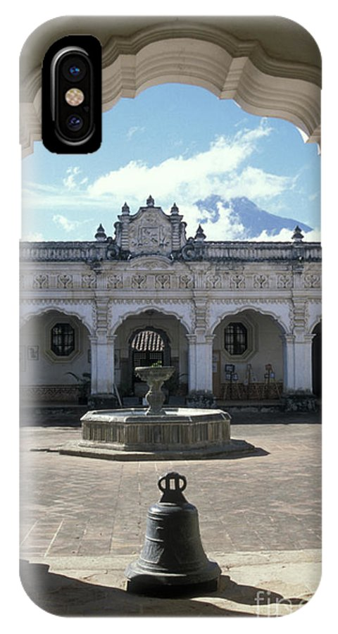 Guatemala IPhone X Case featuring the photograph Moorish Arch by John Mitchell