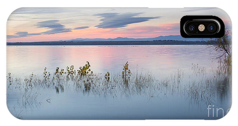 Idaho IPhone X Case featuring the photograph Morning Calm by Idaho Scenic Images Linda Lantzy