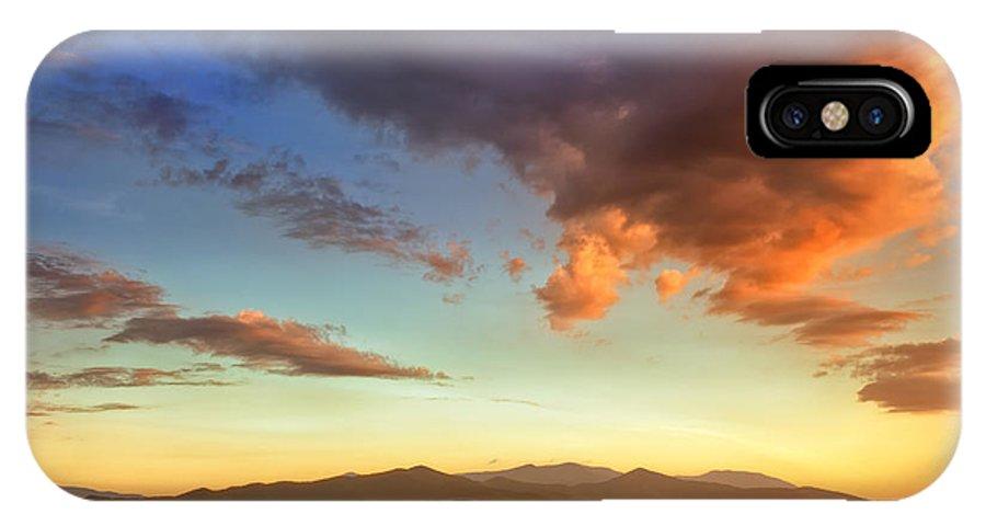 Joye Ardyn Durham IPhone X Case featuring the photograph Morning Glow by Joye Ardyn Durham