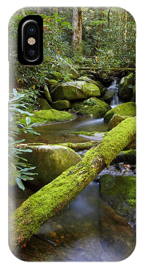 Tennessee IPhone X Case featuring the photograph Moss Flourishing by Andrew McInnes