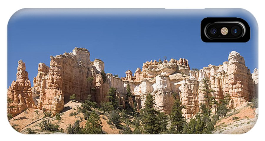 America IPhone X Case featuring the photograph Mossy Cave Trail by Gloria & Richard Maschmeyer