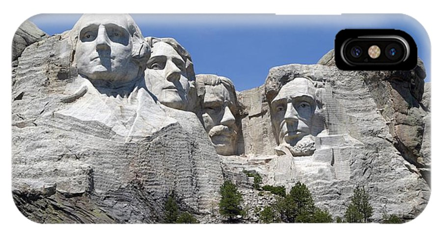 Mount Rushmore IPhone X Case featuring the photograph Mount Rushmore by Living Color Photography Lorraine Lynch