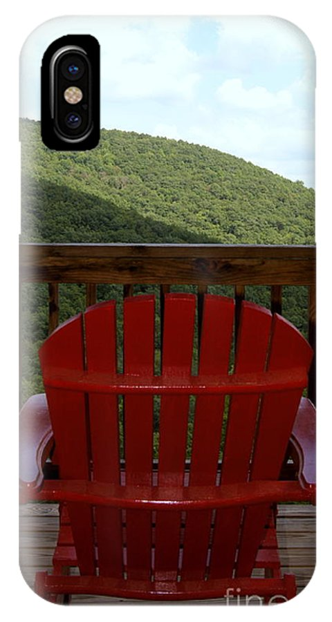 Mountains IPhone X Case featuring the photograph Mountain View by Paul Wilford
