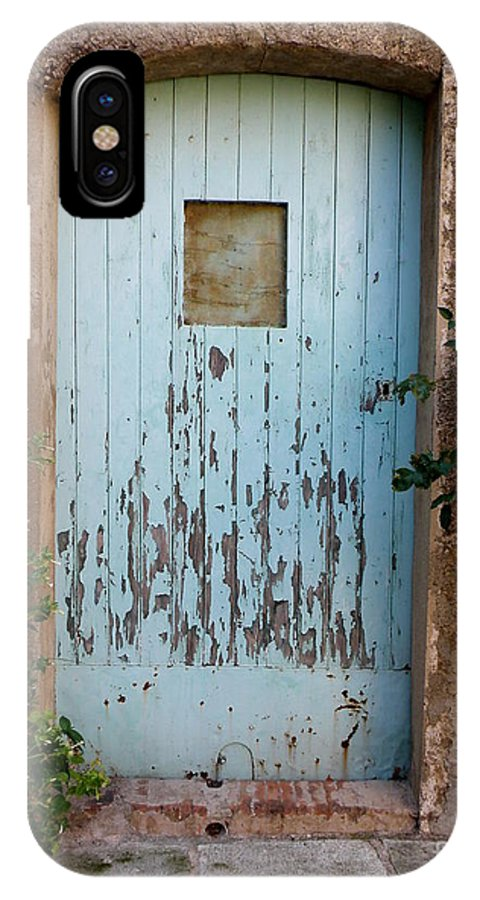 Door IPhone X Case featuring the photograph Mouse Door by Lainie Wrightson