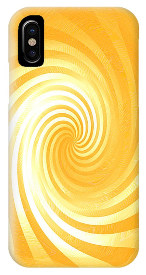 Moveonart! Global Gathering. -- Digital Abstract Art By Jacob Kane -- Omnetra IPhone X Case featuring the digital art Moveonart Joyfulstirwithin by Jacob Kanduch