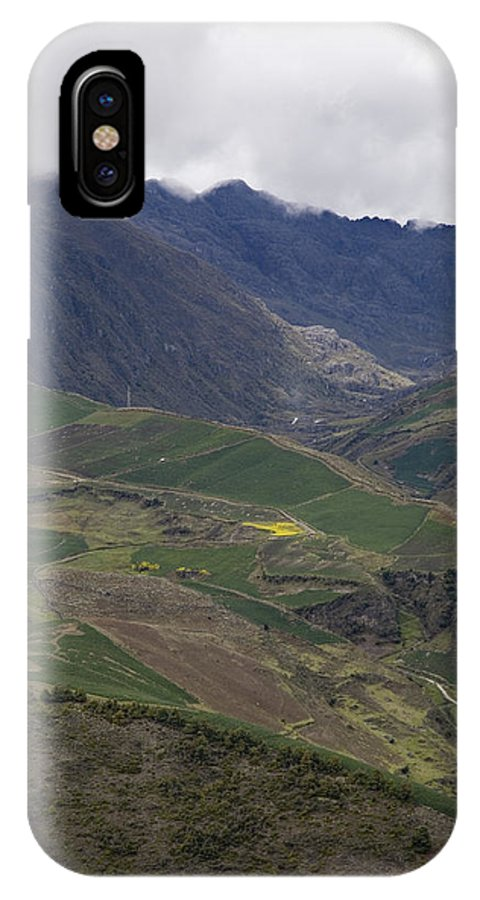 Nobody IPhone X Case featuring the photograph Mucuchies, Merida, Venezuela, Andes by David Evans