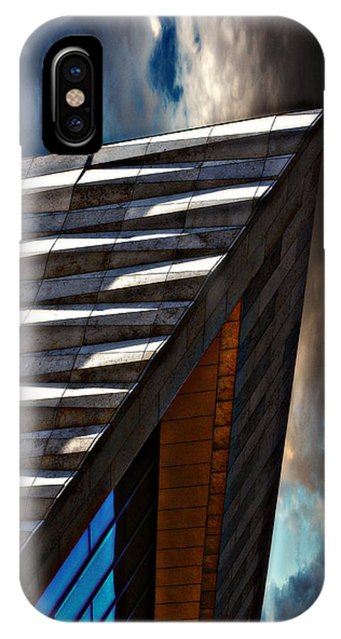 Liverpool IPhone X Case featuring the photograph Museum Of Liverpool by Meirion Matthias