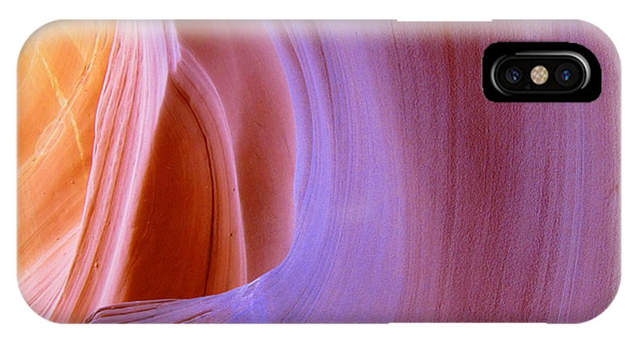 Southwest IPhone X Case featuring the photograph Mysterious Magnificent Antelope Canyon by Christine Till