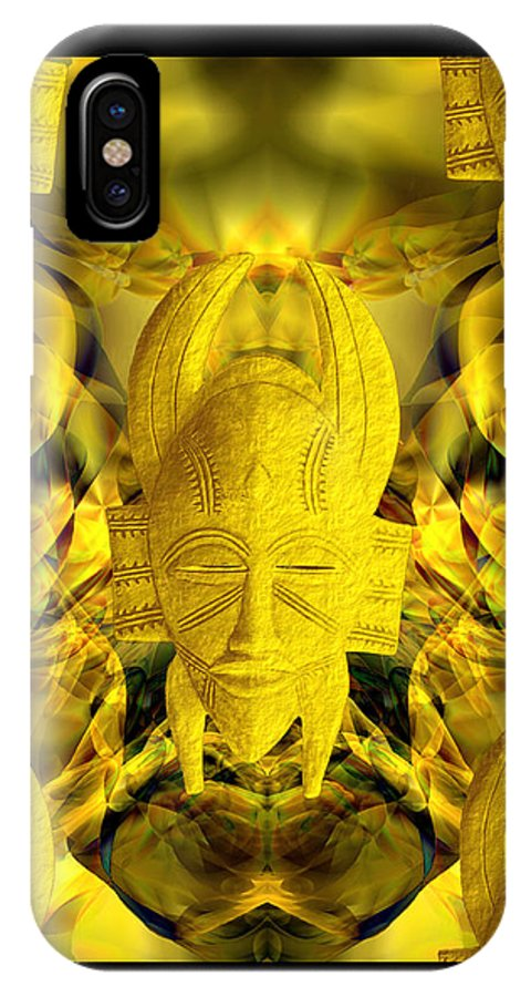 Mystic IPhone X Case featuring the photograph Mystic Illusions by Kurt Van Wagner