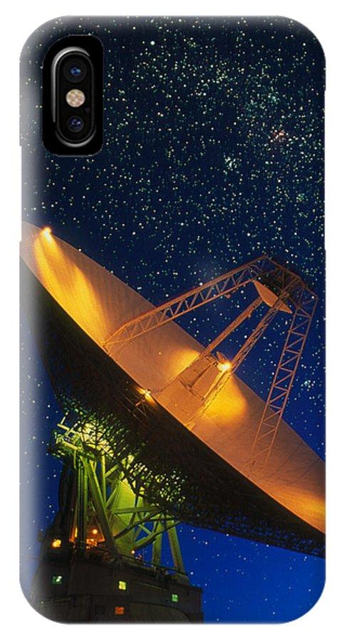 Tidbinbilla IPhone X Case featuring the photograph Nasa Deep Space Tracking Station, Australia by David Nunuk
